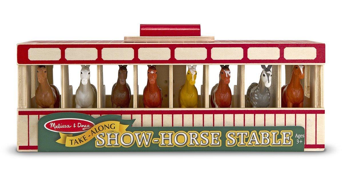 Melissa Doug Show Horse Stable