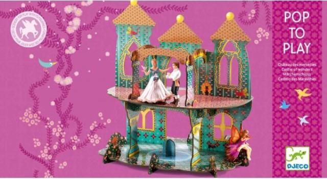 Djeco Pop to Play : Castle of Wonders