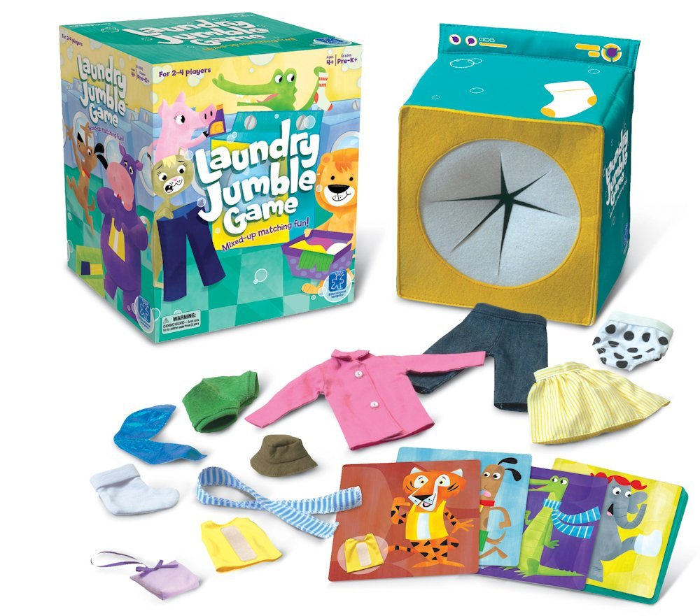 Educational Toys And Games : Educational insights laundry jumble game curious kids