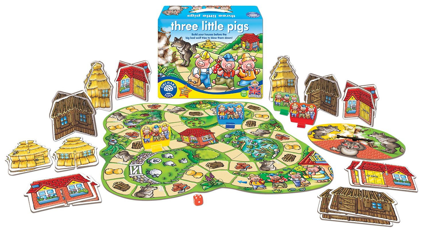 Educational Games Toys R Us : Orchard toys three little pigs curious kids
