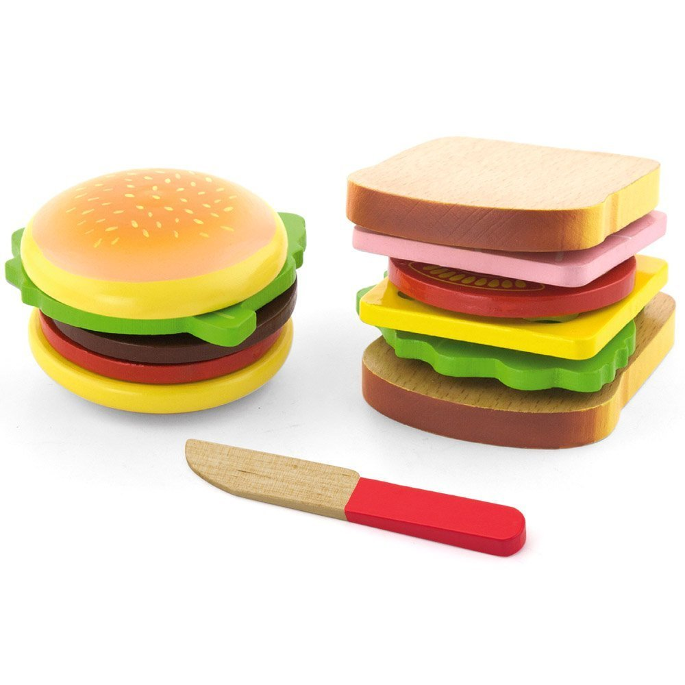 Viga Hamburger Amp Sandwich Curious Kids