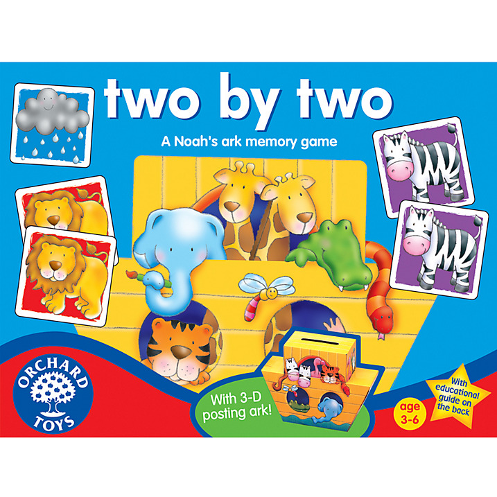 Orchard Toys Two By Two Memory Game Curious Kids New zealand's largest independently owned and operated toy store! orchard toys two by two memory game